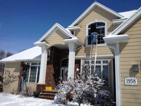 Winter Window Cleaning Connecticut, Westport, Fairfield, Greenwich, Window washing